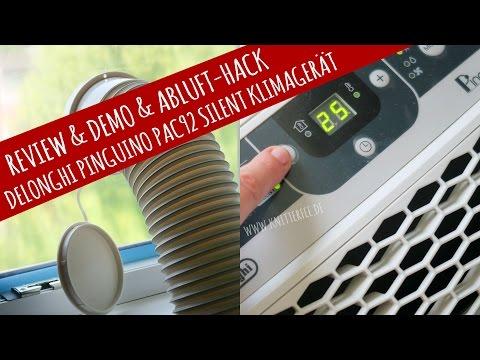 Kurz-Review & Abluft-Hack für DeLonghi Mobiles Klimagerät PAC CN 92 silent