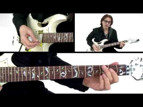 Steve Vai Guitar Lesson - Sisters - Alien Guitar Secrets: Passion & Warfare