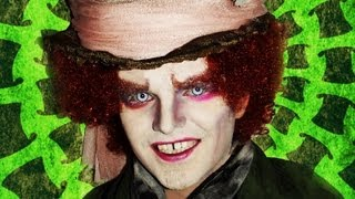 Mad Hatter - Tim Burton's Alice in Wonderland - Makeup Tutorial!