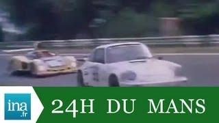 24h du Mans le duel Alpine Renault et Porsche - Archive vidéo INA