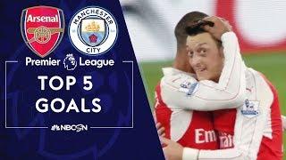Top Five Premier League goals: Arsenal v. Manchester City   NBC Sports