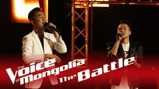 "Bilguun  vs. Munkhbayar - ""Nud chin hair haruulna"" - The Battle - The Voice of Mongolia 2018"