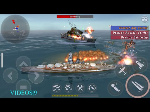 WARSHIP BATTLE : Episode 16 Mission 04  - YAMATO DESPAIR