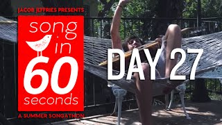 "Song In 60 Seconds - DAY 27 - ""Hello Alone"" by Charlie Winston"