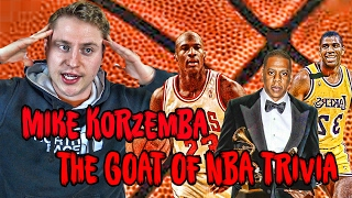 Is Mike Korzemba the Michael Jordan of NBA Trivia !