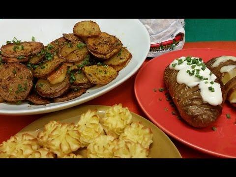 Receta: Guarniciones Variadas con Papas - La Cocinadera