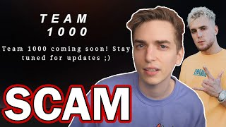 Revisiting Jake Paul's Team 1000 Scam