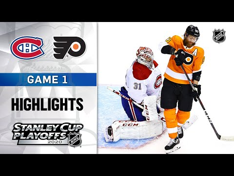 NHL Highlights | First Round, Gm1 Canadiens @ Flyers – Aug. 12, 2020