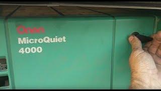 *Fixed* Onan 4000 microquiet oil leak from crank case gasket / Part 2