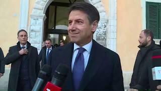 Matera 2019, punto stampa del Presidente Conte