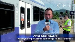 MÓJ SUBSKRYBOWANY KANAŁ – Ruszył wakacyjny pociąg z Muszyny do Popradu na Słowacji
