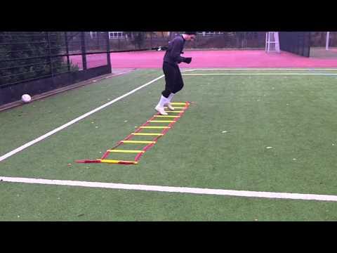 Schnelligkeit trainieren - Lionel Messi - Koordinationsleiter