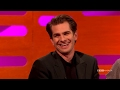 Andrew Garfield on his Golden Globe Kiss with Ryan Reynolds | The Graham Norton Show