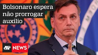 Bolsonaro espera que não seja necessário prorrogar auxílio emergencial