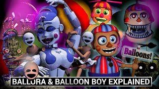 FNAF Animatronics Explained - BALLORA & BALLOON BOY (Five Nights at Freddy's Facts)