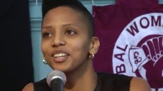 Janaya Khan, Black Lives Matter Toronto - GWS Conference 2015