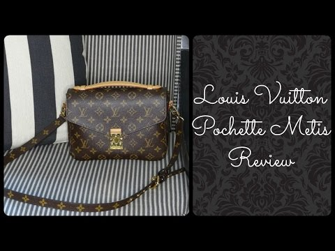 Louis Vuitton Pochette Metis Handbag Review