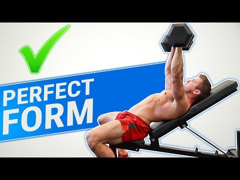 How To: Dumbbell Incline Press   3 GOLDEN RULES (MADE BETTER!)