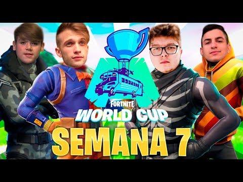 🔴 Clasificatorio FINAL SOLO Fortnite World Cup [EU,BR,NA] - Semana 7 !cofre !miembro !codigo - StarK
