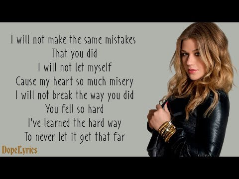 Because Of You - Kelly Clarkson (Lyrics)