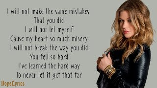 Because Of You - Kelly Clarkson (Lyrics) - YouTube