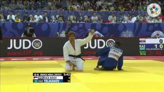 Askhat Telmanov vs Yann Siccardi Grand-Slam Tyumen 2015