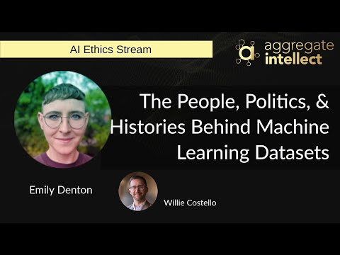 The People, Politics, & Histories Behind Machine Learning Datasets