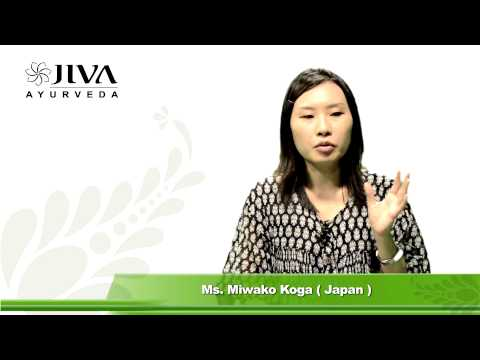 Ms. Miwako Koga's Story of Healing-Ayurvedic Treatment of Insomnia & Stress