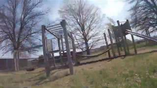 Finally a good day out at the Old School Bando. FPV freestyle flying