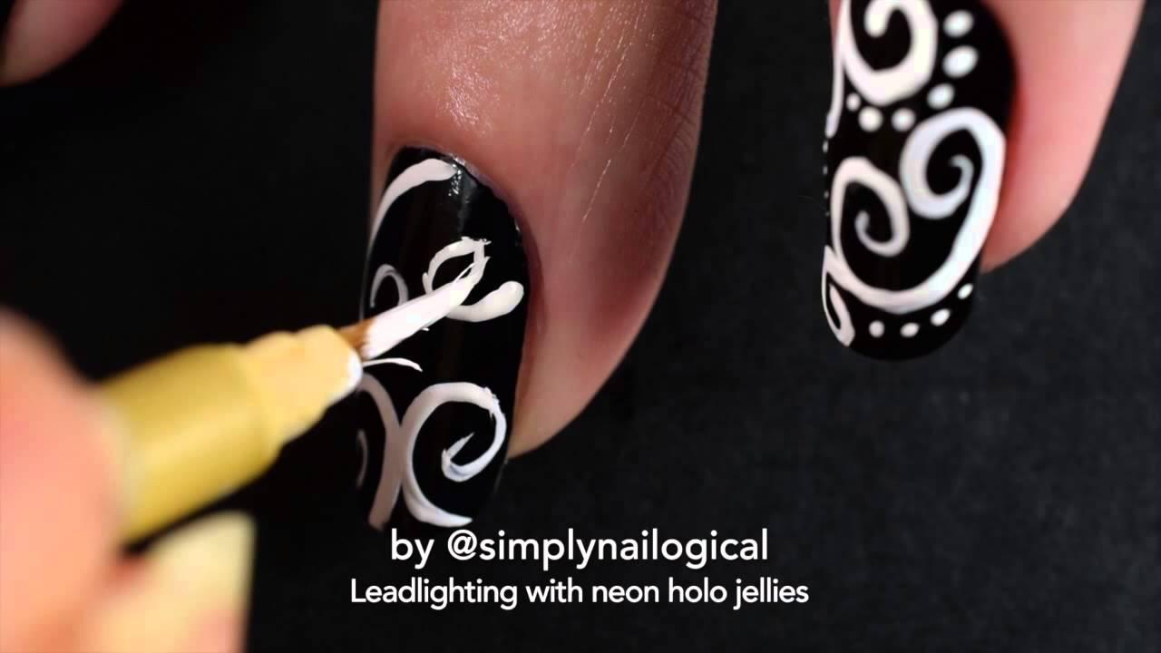 Leadlighting with neon holo jellies thumbnail