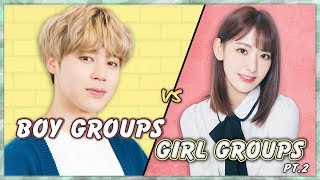Pick One Kick One (Boy Groups Vs Girl Groups) 2