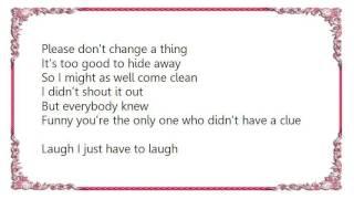 Chely Wright - I Already Do Lyrics