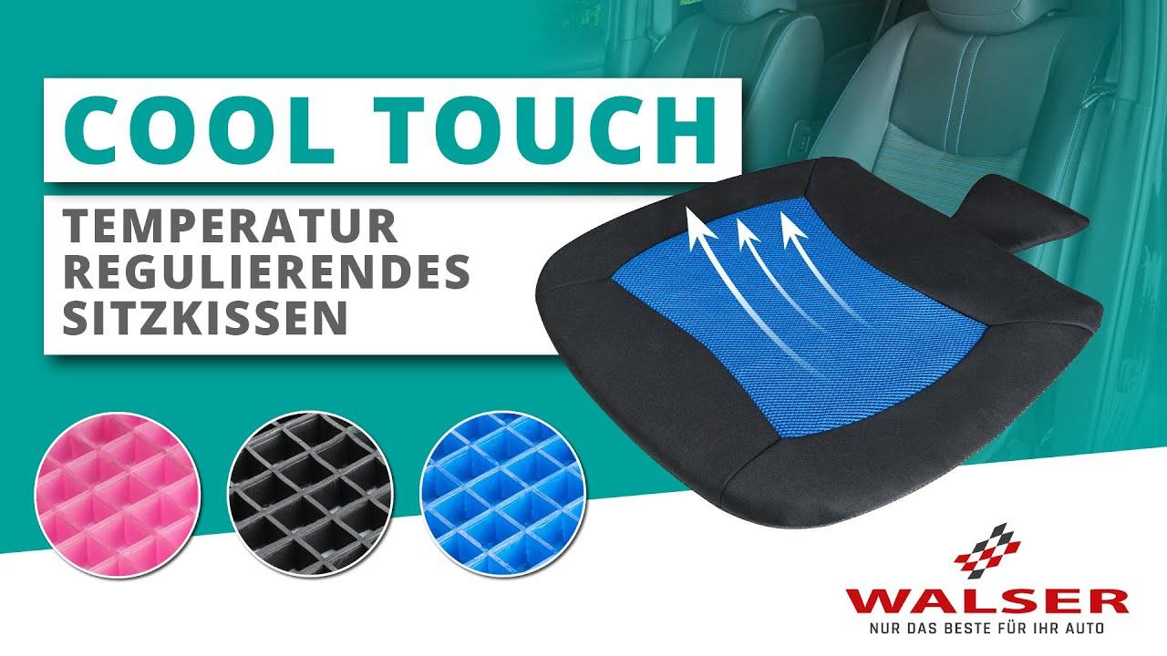 Vorschau: Sitzkissen Cool Touch schwarz-grau