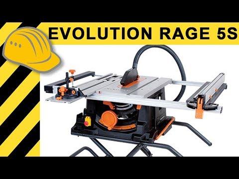 Beste Tischkreissäge für 300 Euro? TEST Evolution RAGE5-S