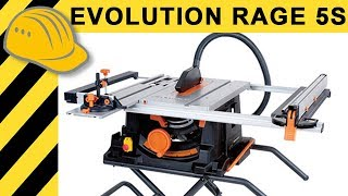 Beste Tischkreissäge Für 300 Euro? TEST Evolution RAGE5 S