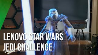 Realidad Mixta con Lenovo Jedi Challenge