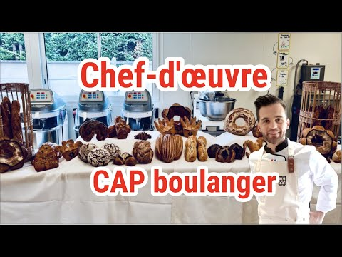 Le chef d'oeuvre CAP Boulanger