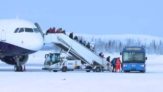 Winter wonderland: Landing to Finnish Lapland | Finavia