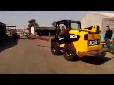 McLaren's Nu-Air DT Tires on JCB 135 Robot Skid Steer