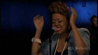 Chrisette Michele performs for AOL Sessions