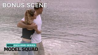 Hannah Ferguson & BF Enjoy Romantic Walk After Hurricane Clean-Up | Model Squad | E! - Video Youtube