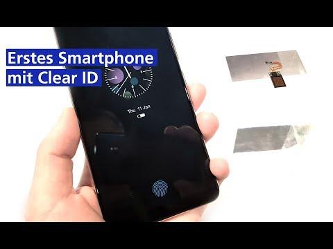 Erstes Smartphone mit Clear ID - VIVO X20 Plus im Hands On (deutsch HD)
