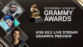 KiSS 92.5 GRAMMYs Live Stream Preview