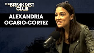 The Breakfast Club - Alexandria Ocasio-Cortez Talks 2020 Race, Trump Tweets, Nancy Pelosi, Democratic Socialism + More