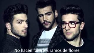 No Hace Falta (Cristian Castro Cover) - Il Volo (+ Lyrics)