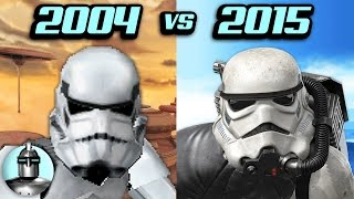 Star Wars Battlefront - Then VS. Now | The Leaderboard