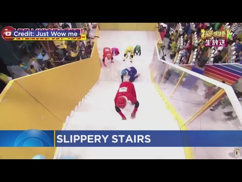 New Japanese Show: 'Slippery Stairs'