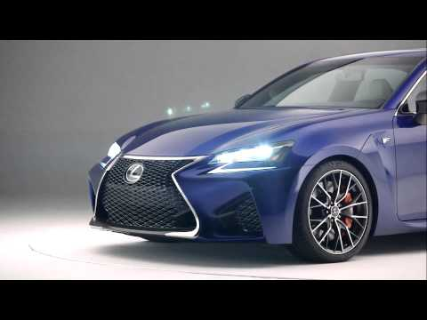 2016 Lexus GS F presentation clip