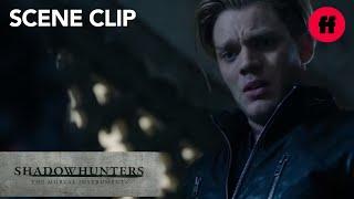 Shadowhunters | Season 1, Episode 9: Jace & Alec Fight | Freeform