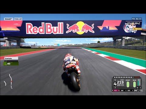 Gameplay de MotoGP 20